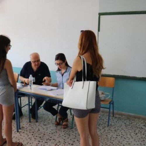 Βουλευτικές Εκλογές 2019: Σχετικά μικρή η συμμετοχή μέχρι στιγμής στη Βέροια, ώρα 2μμ
