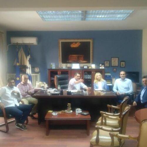 Σύσκεψη στην Αντιπεριφέρεια Ημαθίας με την παρουσία και δυο Υφυπουργών