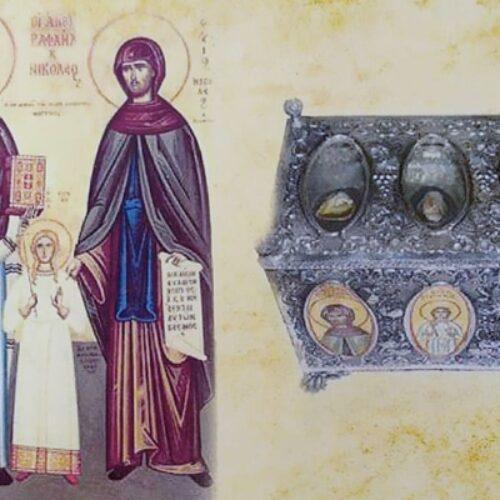 Τα λείψανα των Αγίων Ραφαήλ, Νικολάου και Ειρήνης στον Ι.Ν. Αγ. Παρασκευής Πατρίδας Ημαθίας (21-27 Ιουλίου 2019)