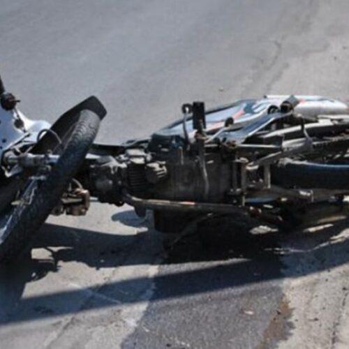 Θανατηφόρο τροχαίο με δίκυκλο μοτοποδήλατο
