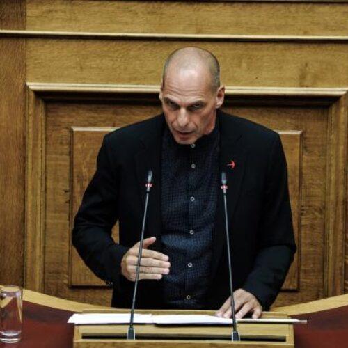 """Βαρουφάκης: """"Κύριε Μητσοτάκη είστε ο τυχερότερος πρωθυπουργός"""""""