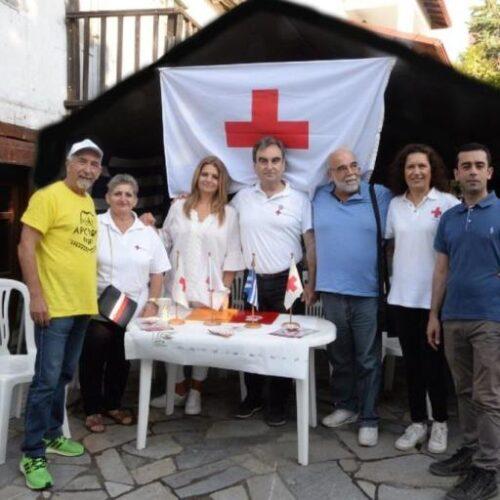 Συμμετοχή εθελοντών του Περιφερειακού Τμήματος ΕΕΣ Νάουσας σε δύο δράσεις
