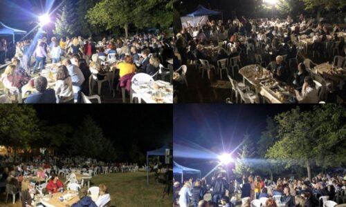 Κοσμοπλημμύρα στη Λαϊκή βραδιά της Κουμαριάς