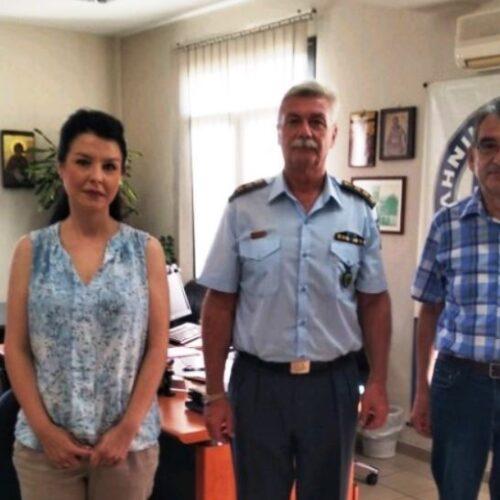 """Συνάντηση του Προέδρου της """"Πρωτοβουλίας για το Παιδί"""" με τον Αστυνομικό Διευθυντή Ημαθίας"""