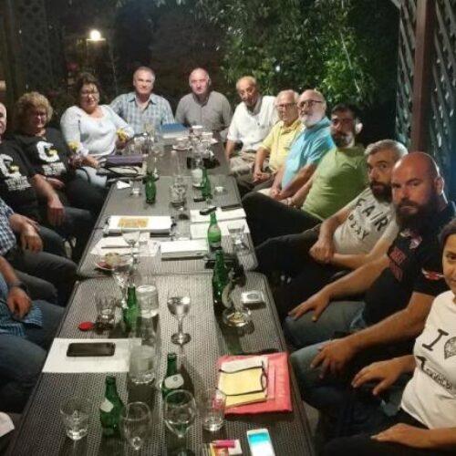 Εκλεκτοί επισκέπτεςτουαπόδημου Ελληνισμού στην Εύξεινο Λέσχη Βέροιας