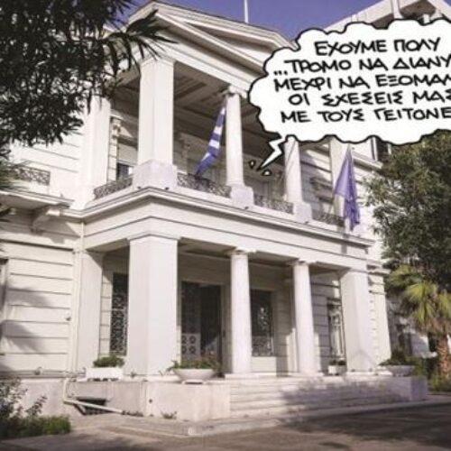 """""""Ο εφιάλτης της Αθήνας - Μια ανάσα χωρίζει την Άγκυρα από τις έρευνες στο Καστελλόριζο"""" γράφει ο Δημήτρης Μηλάκας"""