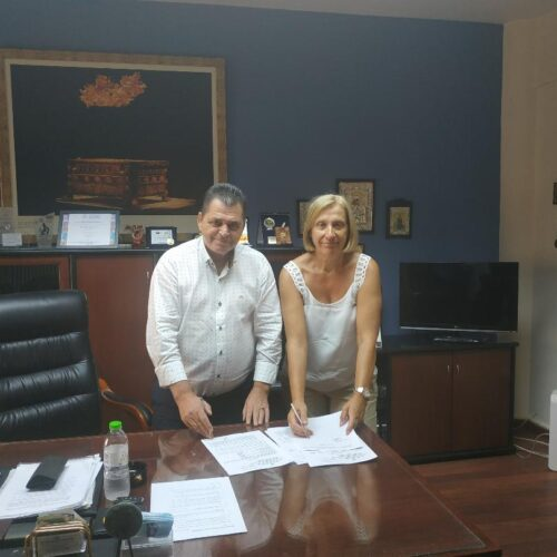 Υπογραφή συμβάσεων έργων Οδοποιίας στην Π.Ε. Ημαθίας