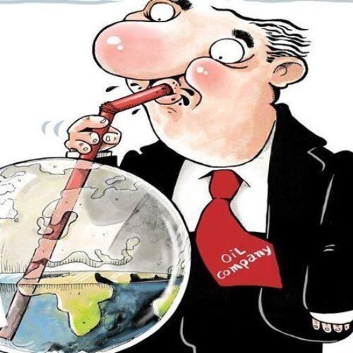"""Οι γελοιογράφοι σχολιάζουν: """"Οικολογική καταστροφή"""" - Δημήτρης Γεωργοπάλης"""