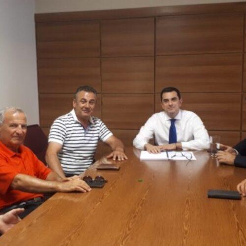 Συνάντηση με τον Υφυπουργό Αγροτικής Ανάπτυξης είχαν εκπρόσωποι του Αγροτικού Συλλόγου Βέροιας