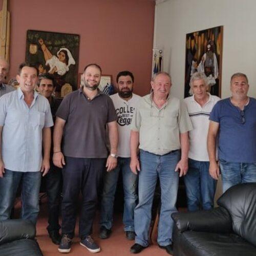 Συνάντηση Δημάρχου με φορείς για το θέμα του υποκαταστήματος ΕΦΚΑ Νάουσας