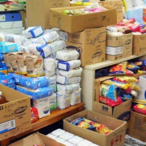 Συνεχίζεται στους Δήμους Βέροιας και Νάουσας η διανομή τροφίμων στους δικαιούχους του ΤΕΒΑ