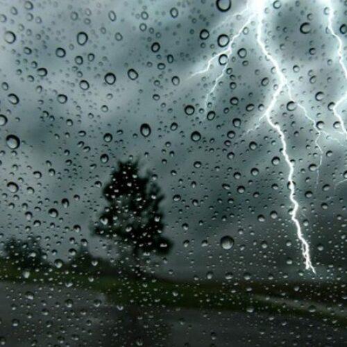 Έκτακτο δελτίο επιδείνωσης του καιρού: Πρόβλεψη για βροχές, καταιγίδες και χαλάζι