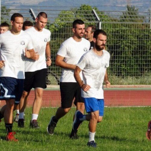 Μπάσκετ: Η πρώτη προπόνηση της σεζόν για το ανδρικό τμήμα των Αετών Βέροιας