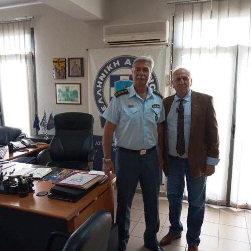 Ο πρόεδρος του Δικηγορικού Συλλόγου Ημαθίας στον νέο Διευθυντή της Διεύθυνσης Αστυνομίας Ημαθίας