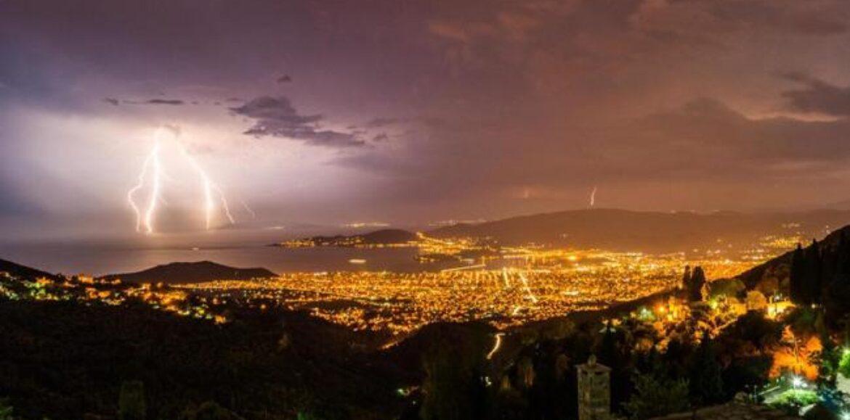 Αστεροσκοπείο Αθηνών: Πάνω από 3.000 κεραυνοί στην Ελλάδα το βράδυ του Δεκαπενταύγουστου!