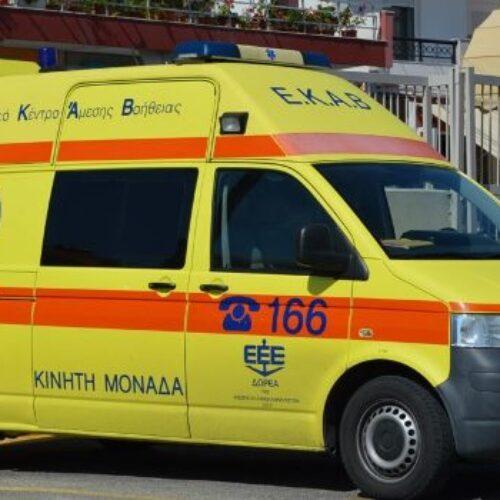 Ένας 53χρονος νεκρός  και τρεις τραυματίες σε σύγκρουση δύο ΙΧ