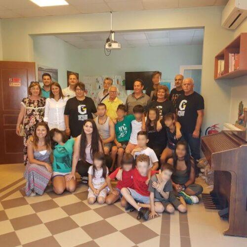 """Επίσκεψη Φορέων από τον Τορόντο στην """"Πρωτοβουλία για το Παιδί"""" - Ανακήρυξη σε Μεγάλους Δωρητές"""