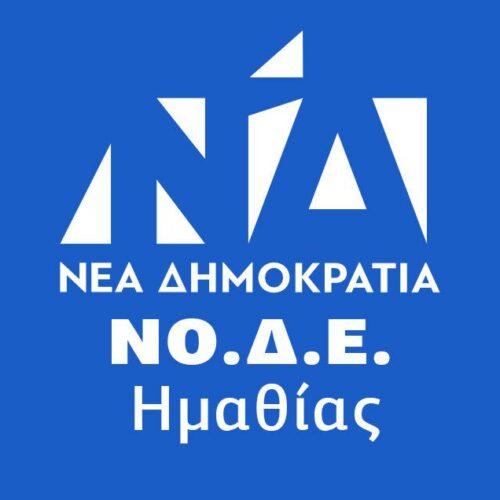 """Εκδήλωση της ΝΟΔΕ Ημαθίας: """"Το μακεδονικό σήμερα μετά τη συμφωνία των Πρεσπών"""""""