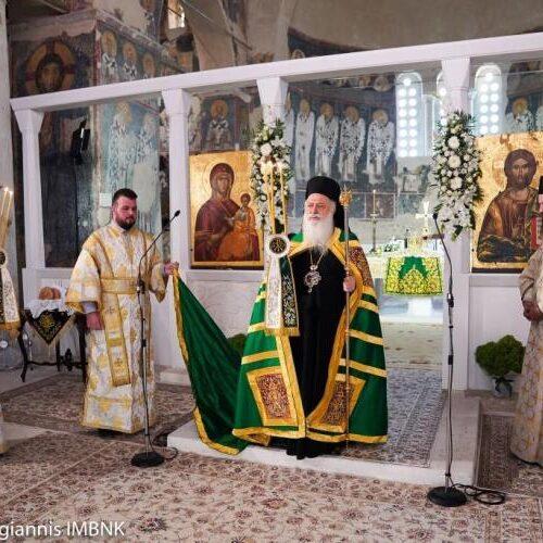 Θεία Λειτουργία, προς τιμή του προστάτη της Τίμιο Σταυρό πραγματοποίησε η Θρακική Εστία Βέροιας