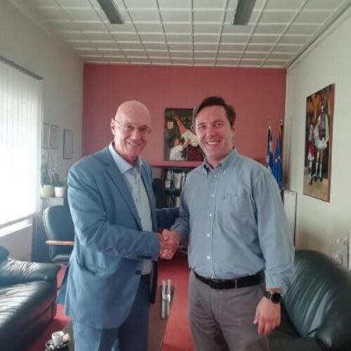 Συνάντηση Δημάρχου Νάουσας  Ν. Καρανικόλα με τον Διευθυντή επί Τιμή στην Ευρωπαϊκή Επιτροπή Γ. Κρεμλή