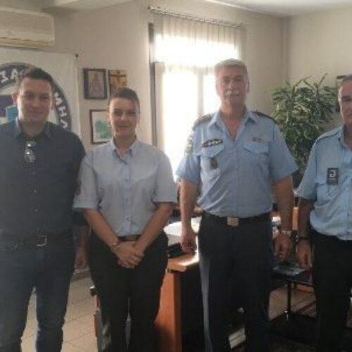 Συνάντηση του Διευθυντή της Διεύθυνσης Αστυνομίας Ημαθίας με εκπροσώπους της Δημοτικής Αστυνομίας Βέροιας