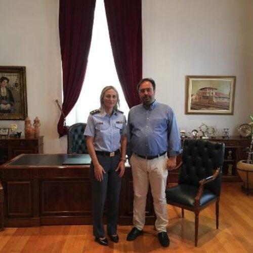 Συνάντηση Δημάρχου Βέροιας με τη νέα Διοικήτρια της Σχολής της ΕΛ.ΑΣ. Βόρειας Ελλάδας