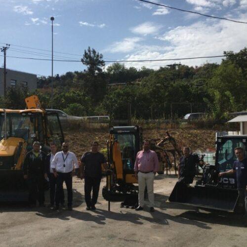 """Παραλήφθηκαν από το Δήμο Βέροιας τα πρώτα μηχανήματα έργου μέσω του προγράμματος """"Φιλόδημος ΙΙ"""""""