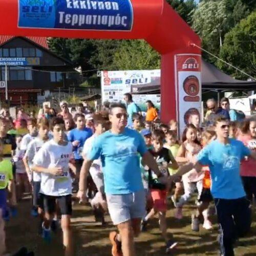 Eπίσημο video του αγώνα Seli mountain running 2019