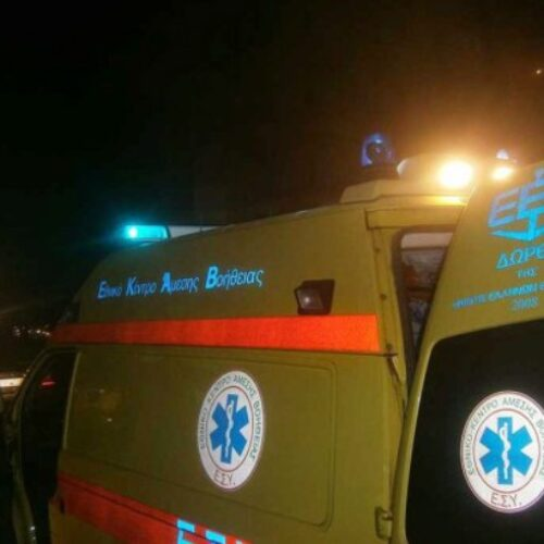 Θανάσιμος τραυματισμός 30χρονου οδηγού από πτώση του αυτοκινήτου σε χαράδρα