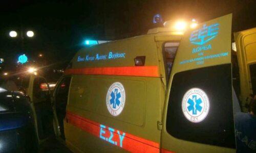 Τροχαίο δυστύχημα με θανάσιμο τραυματισμό της 26χρονης οδηγού