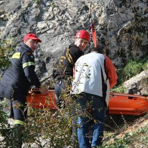 Τραγωδία στον Όλυμπο -  Ανασύρθηκε νεκρός ορειβάτης