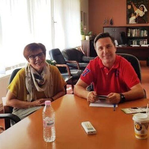 Συνάντηση του «Έρασμου» με τον νεοεκλεγέντα Δήμαρχο Νάουσας Ν. Καρανικόλα