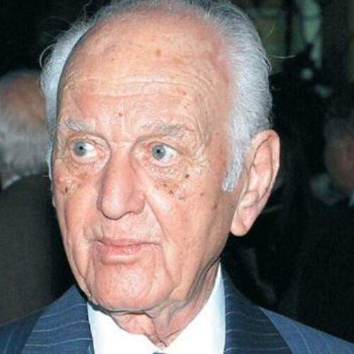 Συλλυπητήριο της Εύξεινου Λέσχης Νάουσας για τον θάνατο του Αντώνη  Λιβάνη