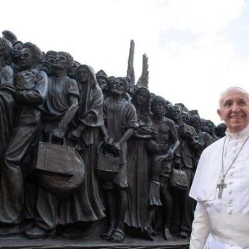 """Πάπας Φραγκίσκος: """"Οι χώρες που προκαλούν προσφυγιά αρνούνται να υποδεχθούν πρόσφυγες"""""""