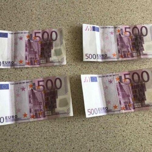 Συλλήψεις για κατοχή πλαστών χαρτονομισμάτων