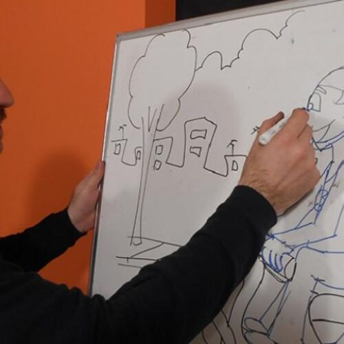 Ξεκινούν ταμαθήματα σκίτσου στην Εύξεινο Λέσχη Βέροιας