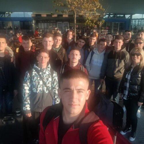 Αναχώρησαν οι Μηχανολόγοι του ΕΠΑΛ Βέροιας για Γερμανία μέσω Erasmus