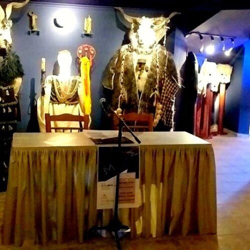 """Παρουσίαση του λευκώματος """"Μάσκες"""" στο Εθνογραφικό Κέντρο """"Γιώργης Μελίκης"""", Κυριακή 3 Νοεμβρίου"""