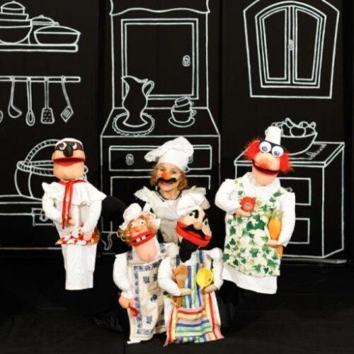 "Veria Puppet 2019: Παράσταση ποδο-κουκλοθέατρου ""Cucina in punta dei piedi"", Πέμπτη 17 Οκτωβρίου"