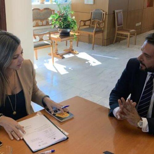Συνάντηση Τ. Μπαρτζώκα με την Υφ. Παιδείας Σοφία Ζαχαράκη - Μεταφέρθηκαν και αιτήματα της ΕΛΜΕ Ημαθίας