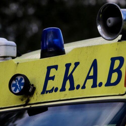 Τροχαίο δυστύχημα με 88χρονη νεκρή και έξη τραυματίες