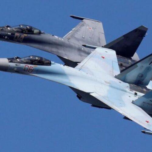 Συρία: Ρωσικά Su-35 εμπόδισαν τουρκικά F-16 που ήθελαν να βομβαρδίσουν Κούρδους (Photos/Video)