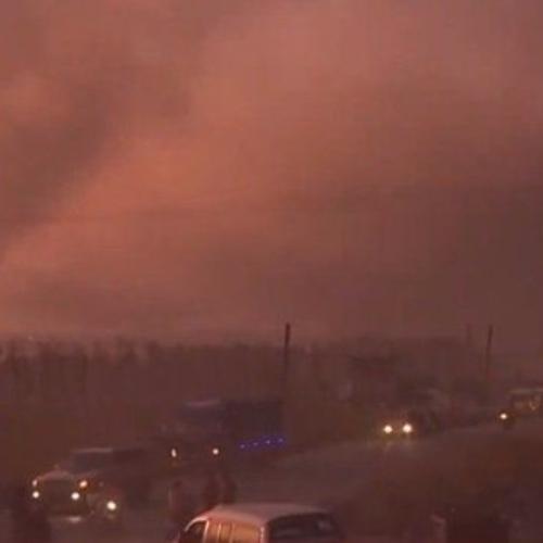 Συρία: Αεροπορική επίθεση σε κονβόι αμάχων και δημοσιογράφων (video)