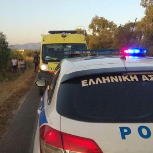 Θανάσιμος τραυματισμός 45χρονου μοτοσικλετιστή στην Ημαθία