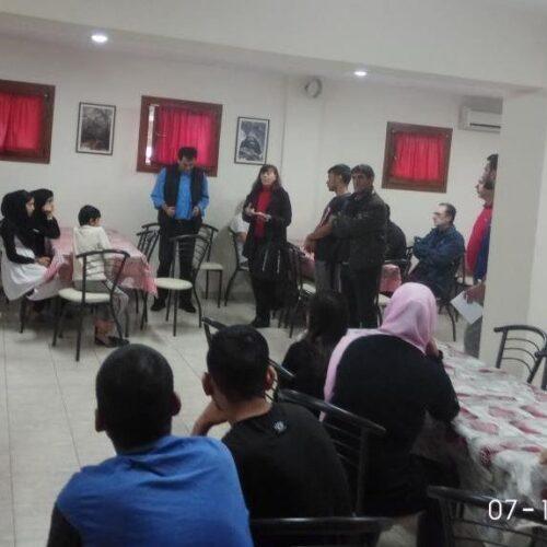 Εργατικό Κέντρο Νάουσας: Επίσκεψη αλληλεγγύης στους χώρους φιλοξενίας προσφύγων στη περιοχή