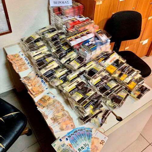 Συνελήφθη 54χρονος στην Ημαθία για  κατοχή και πώληση λαθραίων τσιγάρων και καπνού