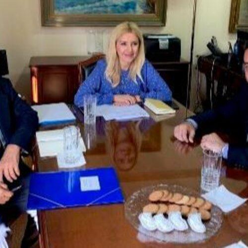 Ο Τάσος Μπαρτζώκας για τη συνάντηση με την Υφυπουργό Αγροτικής Ανάπτυξης