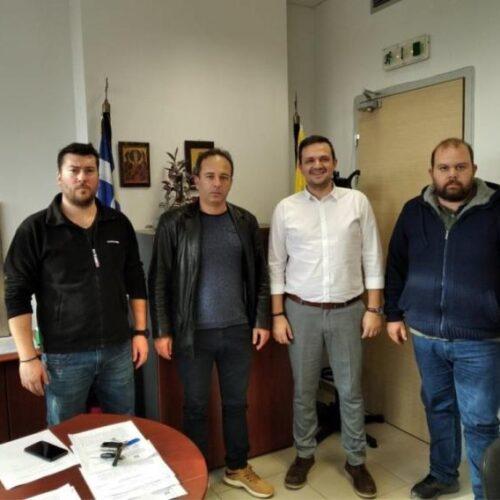 Συνάντηση με τον Αντιπεριφερειάρχη Αγροτικής Οικονομίας  Κ. Μακεδονίας πραγματοποίησε ο Αγροτικός Σύλλογος Ημαθίας