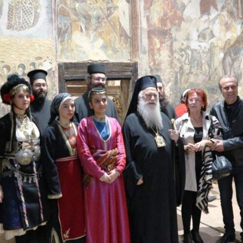 Σε πανηγυρική ατμόσφαιρα τα θυρανοίξια του Άη Δημήτρη στα Παλατίτσια - Ξενάγηση από την Αγγελική Κοτταρίδη