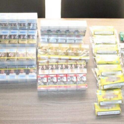Συλλήψεις στην Ημαθία για λαθραία τσιγάρα και εκκρεμή καταδικαστική απόφαση